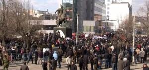 Protesta në Prishtinë, 10 autobusë nisen nga Gjakova