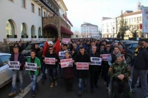 Protesta kundër Jabllanoviqit në disa vende të Kosovës