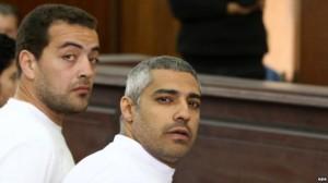 Lirohen gazetarët e Al-Jazeeras në Egjipt