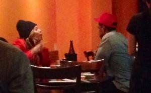 Beyonce e Jay Z, sherr në restorant