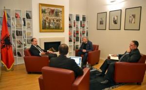 Nishani: Do të bëhet bashkimi shqiptarëve sipas modelit evropian!