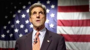 John Kerry viziton Kievin, takon Poroshenkon