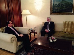 Menduh Thaçi : Jemi të shqetësuar nga bllokimi i procesit euro-integrues