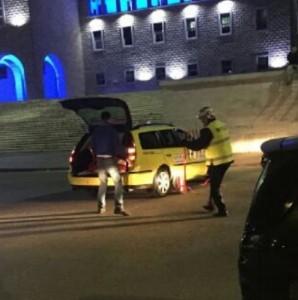 Policia shqiptare i kryen shërbimet me Taxi