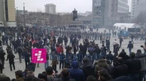 Protestë kundër së keqes së madhe