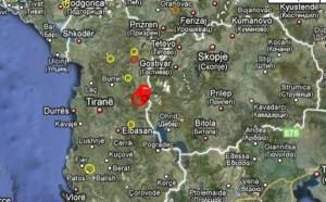 Tërmete të njëpasnjëshme, ndihen në Kosovë dhe Shqipëri