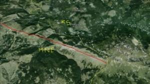 Liqenati i Bjeshkëve të Rugovës ndahet në dysh!?