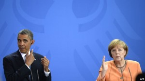 Angela Merkel dhe Barak Obama sot bisedojnë për Ukrainën