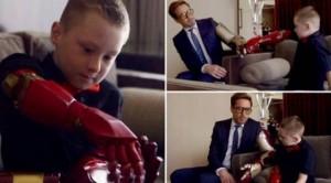 Djaloshi lind pa krahë, por 'Iron Man' ia dhuron njërën dorë!
