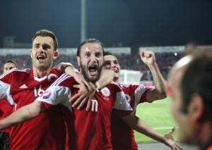 """Ja shanset e Shqipërisë që të kualifikohet në """"Euro 2016"""""""