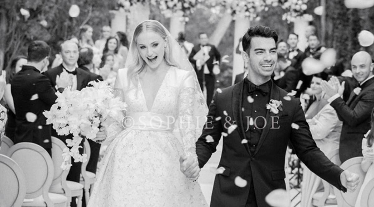 First photo of Joe Jonas and Sophie Turner's wedding is every bit gorgeous  | Entertainment News,The Indian Express