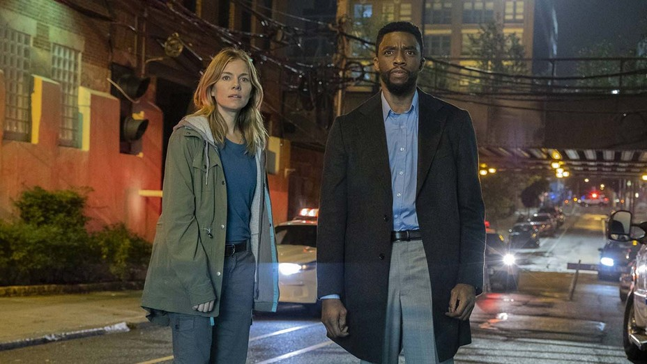 Sienna Miller Says Chadwick Boseman Gave Part of His Salary to Increase Her Pay on '21 Bridges'   Hollywood Reporter